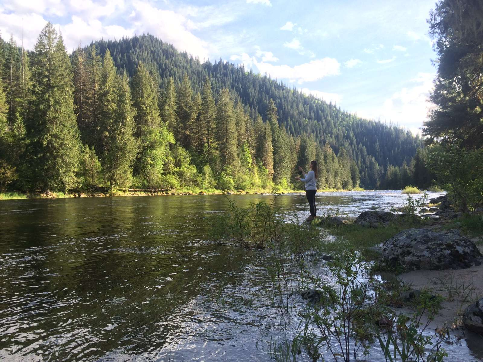 Wilderness Gateway Campground Nez Perce Clearwater Id 3