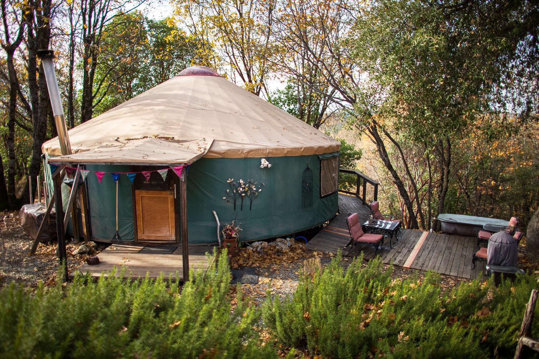 Image result for yurt