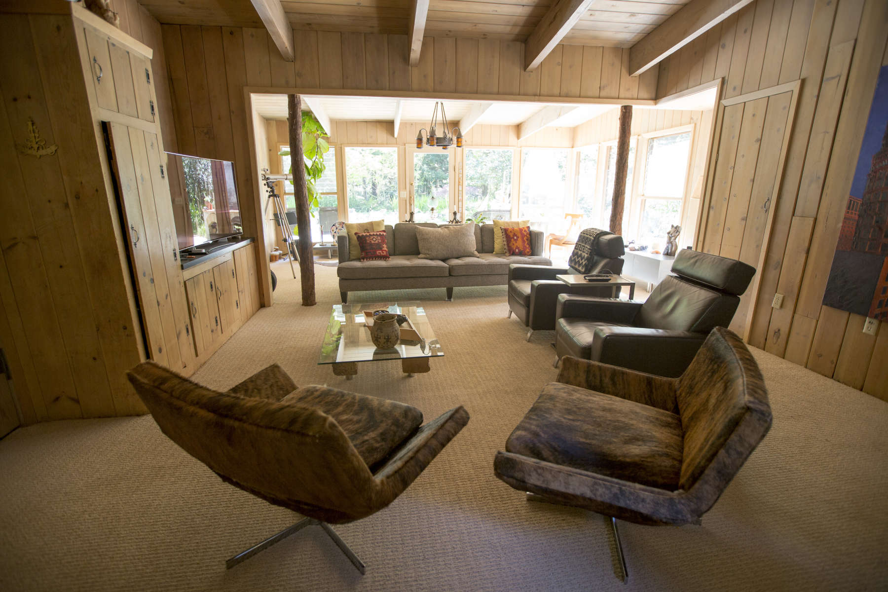 cowboy living room.  Karen G s photo at The Cowboy Room Flip Jack Ranch CA 13 Hipcamper reviews and 59