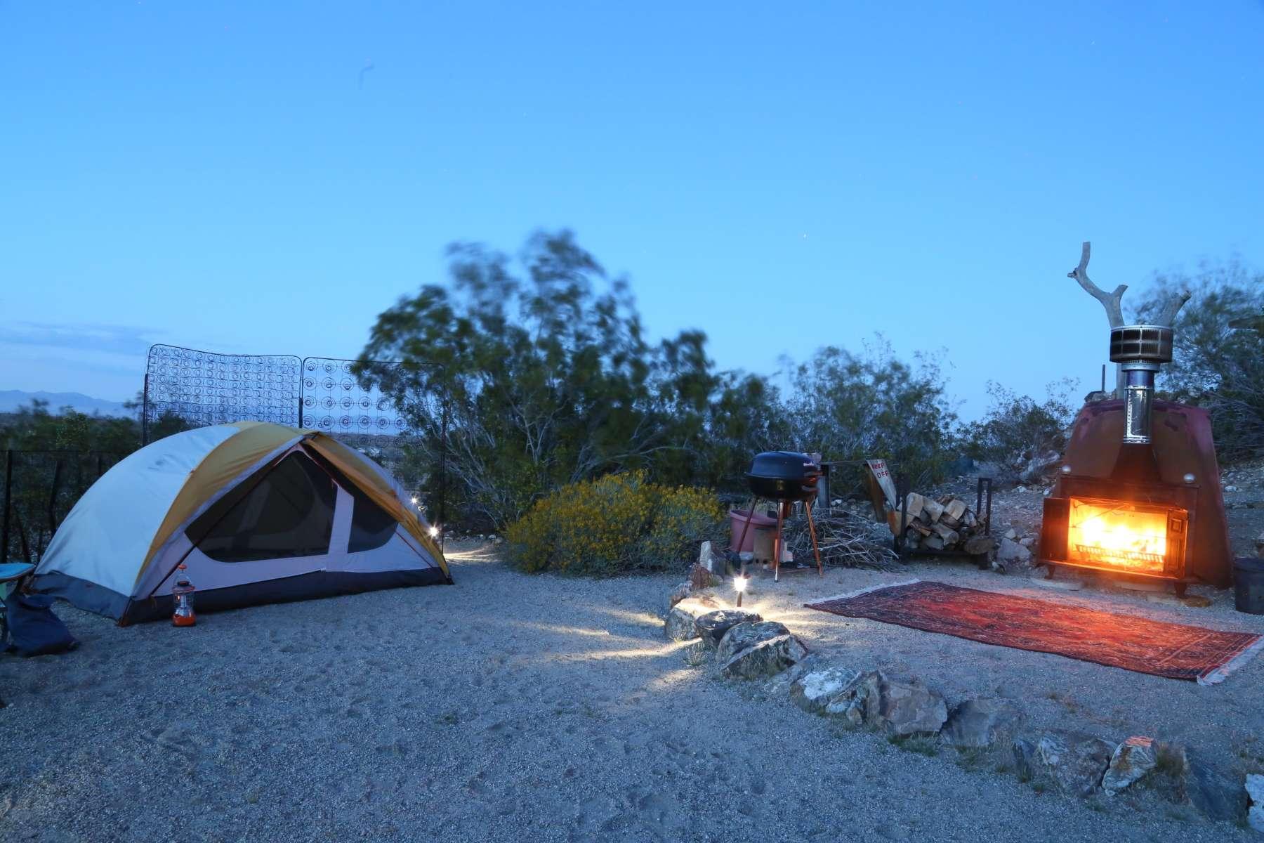 ... Steph M.'s photo at Joshua Tree Gypsy Camp ...