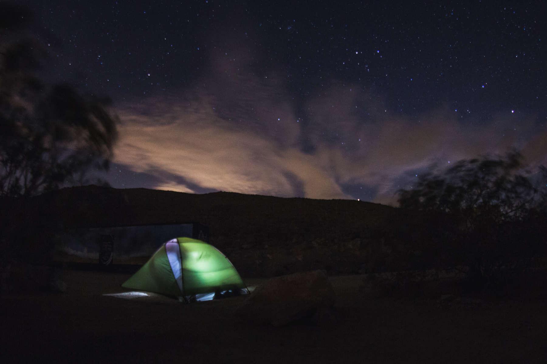 Joshua Tree Campsite JTNP