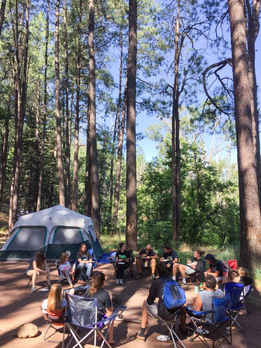 Christopher Creek Campground Tonto Az 1 Hipcamper