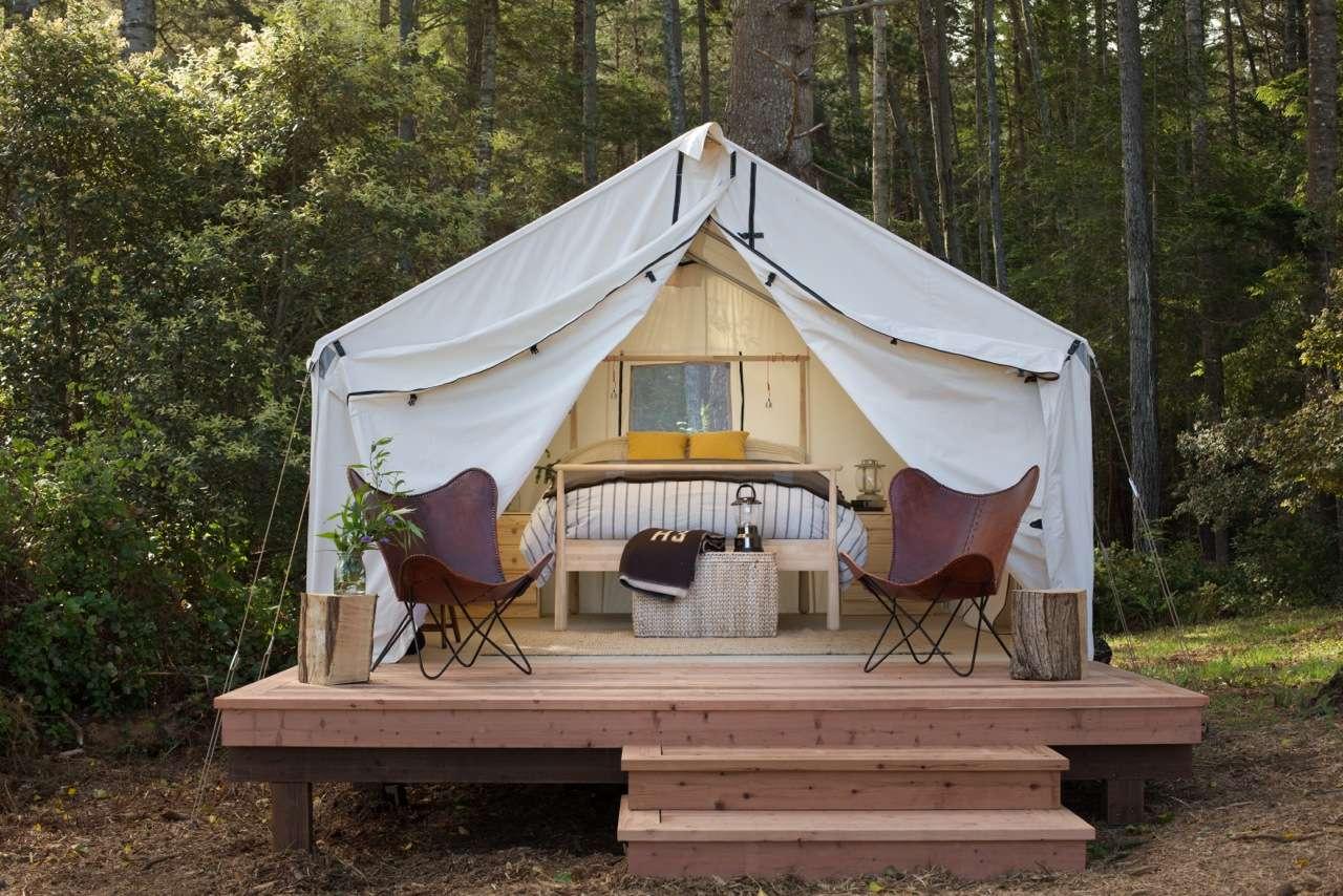 Modern Camping Mendocino Classic Mendocino Grove Ca 58