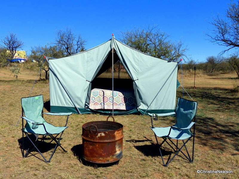 LA SIESTA Tent, Car Camping, La Siesta Campgrounds, AZ: 2 ...