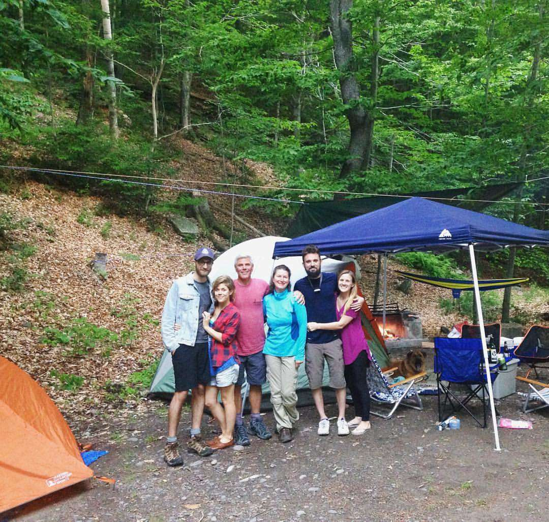 Woodlands Campsite At The Formula 1: Woodland Valley Campground, Catskill, NY: 9 Hipcamper