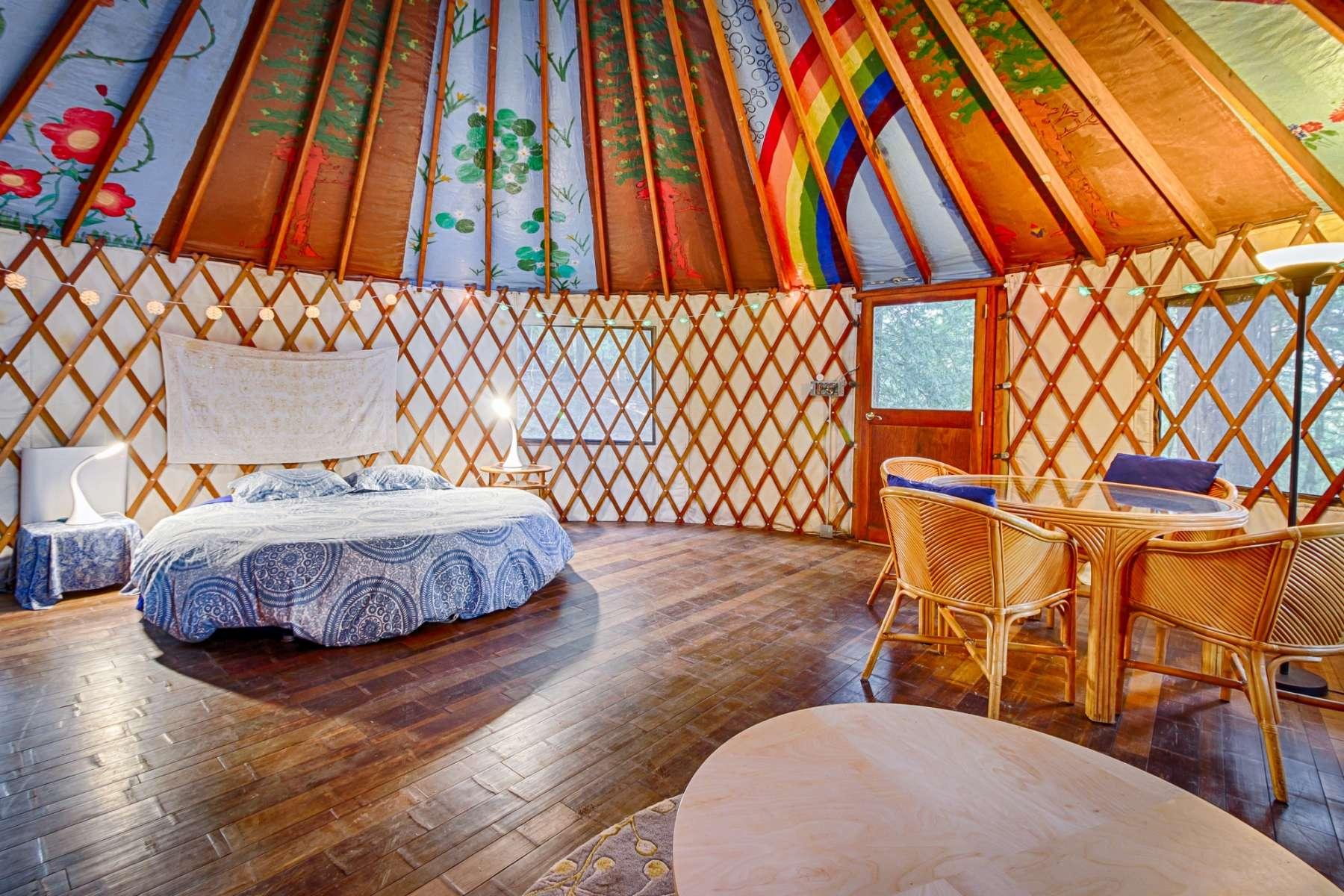 Yurt Interior Design Free Mir Detok