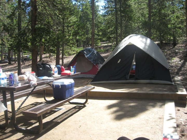 reverend's ridge, golden gate canyon, co: 1 hipcamper review and 4