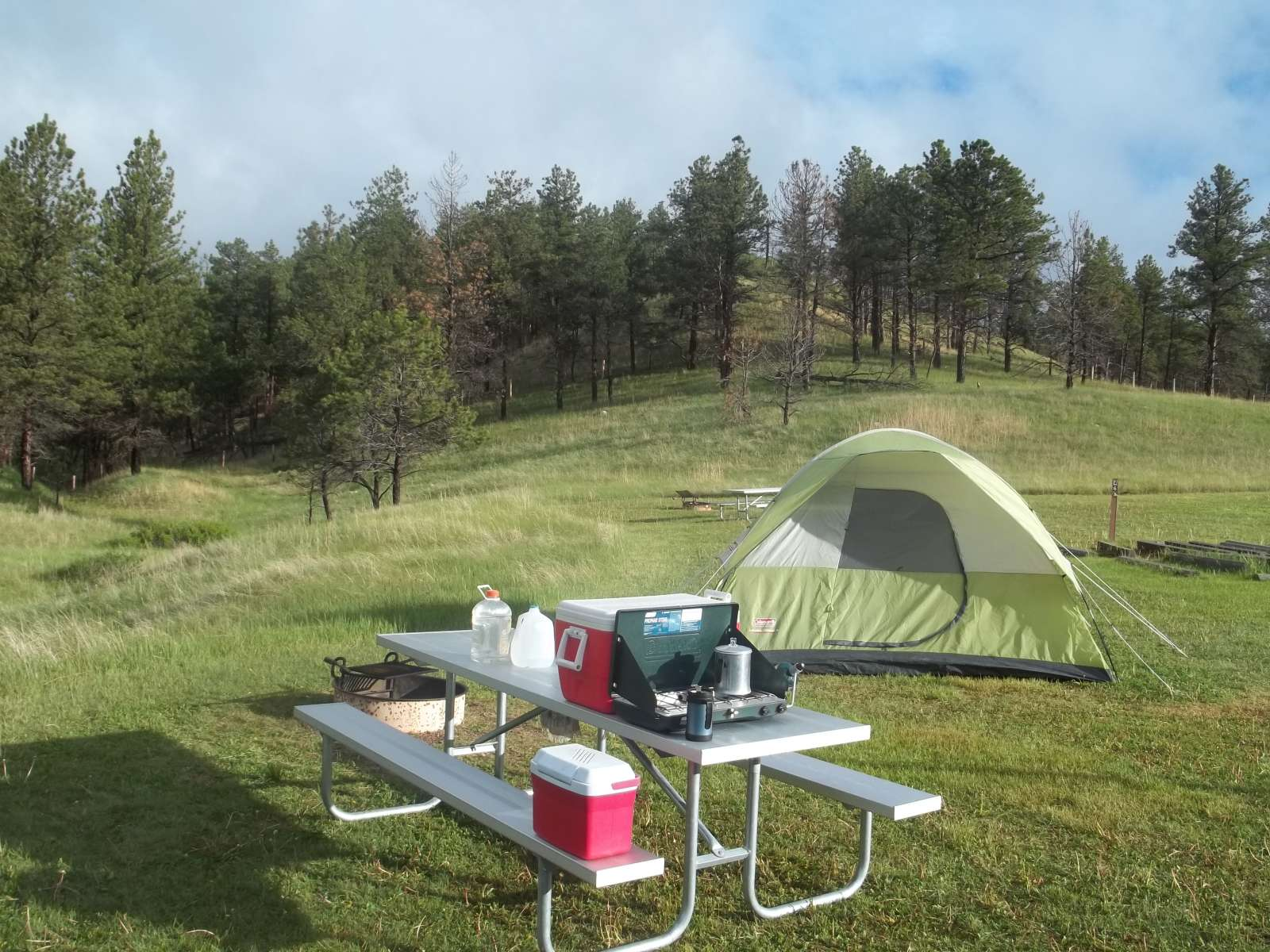... Andy D.'s photo at Elk Mountain Campground ...