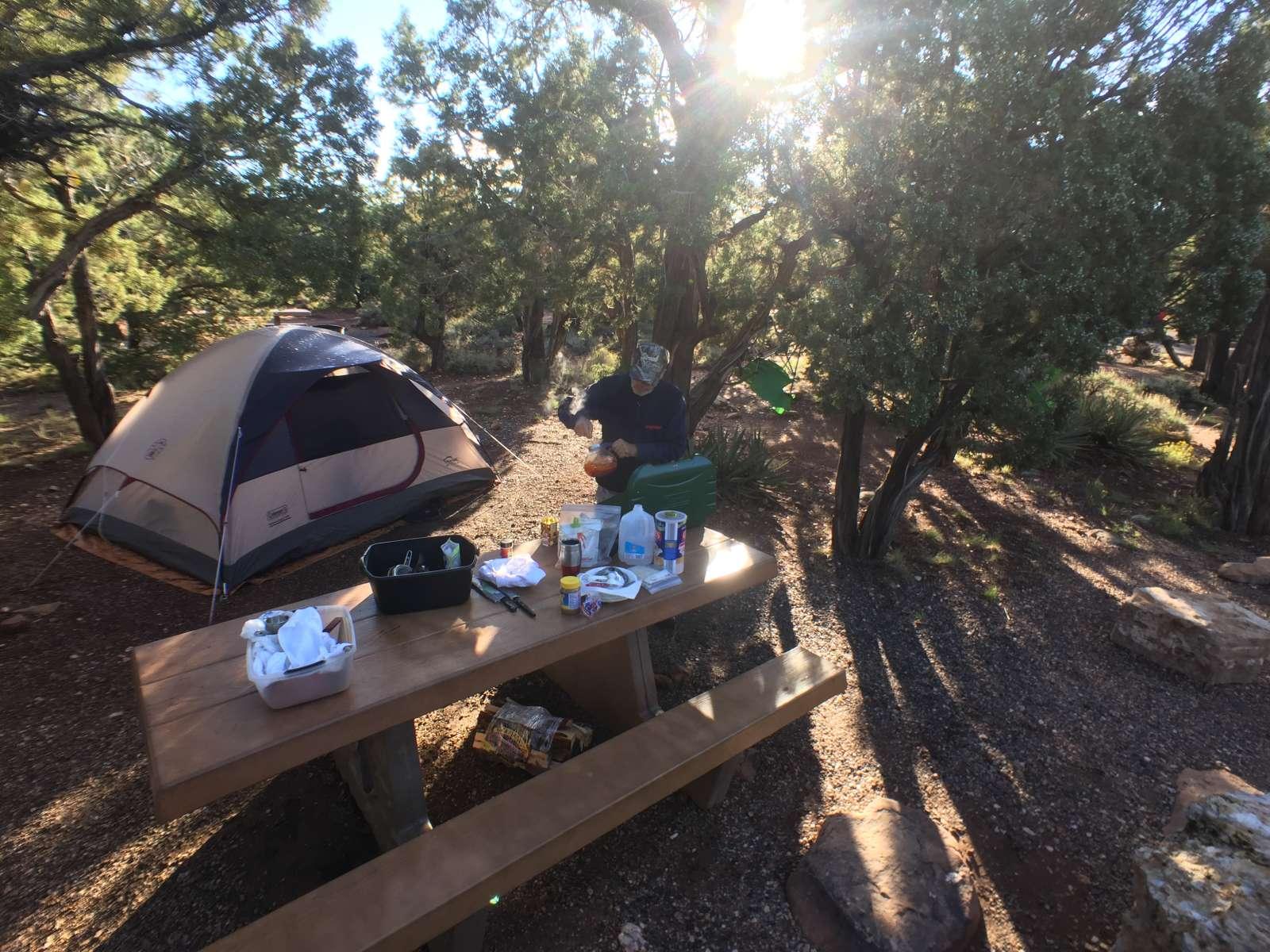 Desert view campground rv hookups