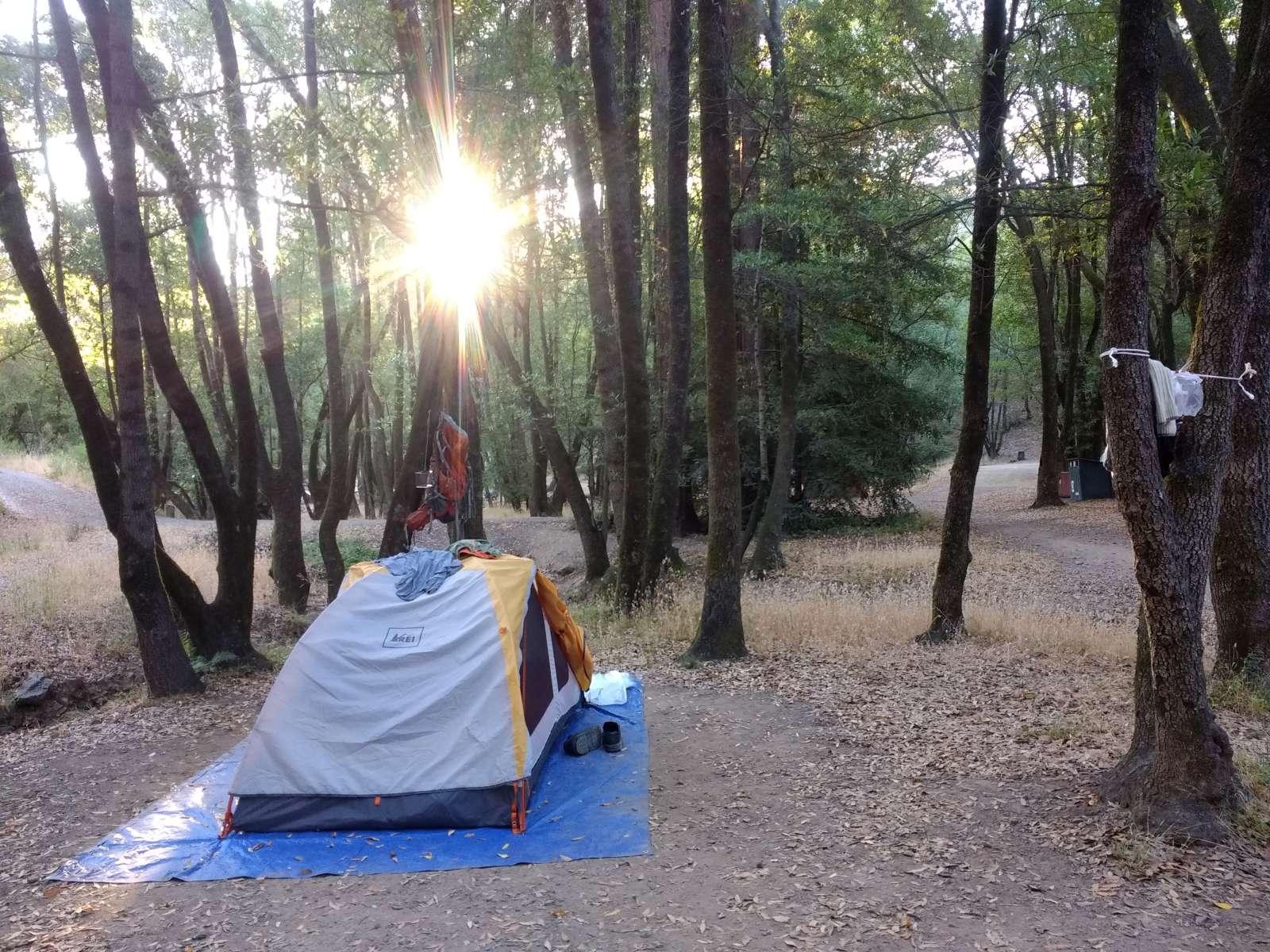 China Camp State Park Camping