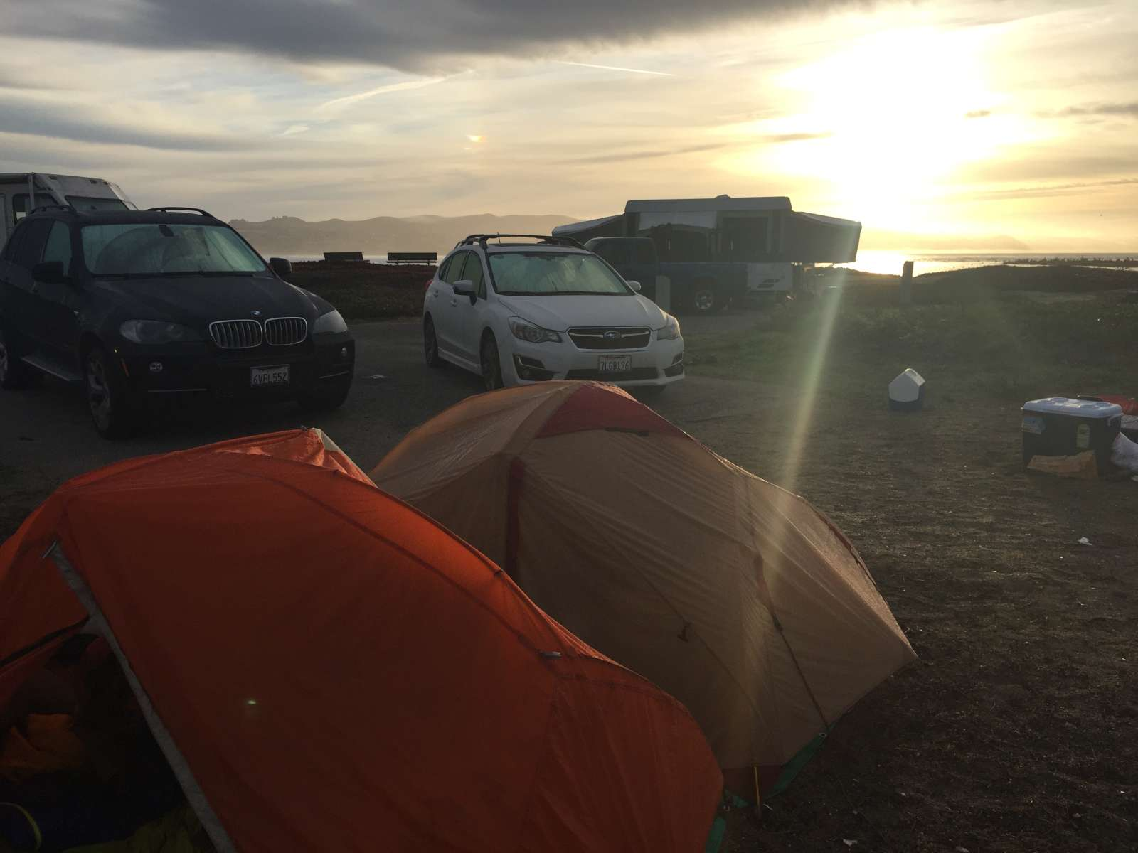 Bodega dunes campground fees with hookups
