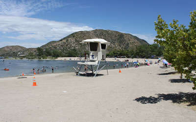 Best camping in and near silverwood lake state recreation area for Lake silverwood fishing report
