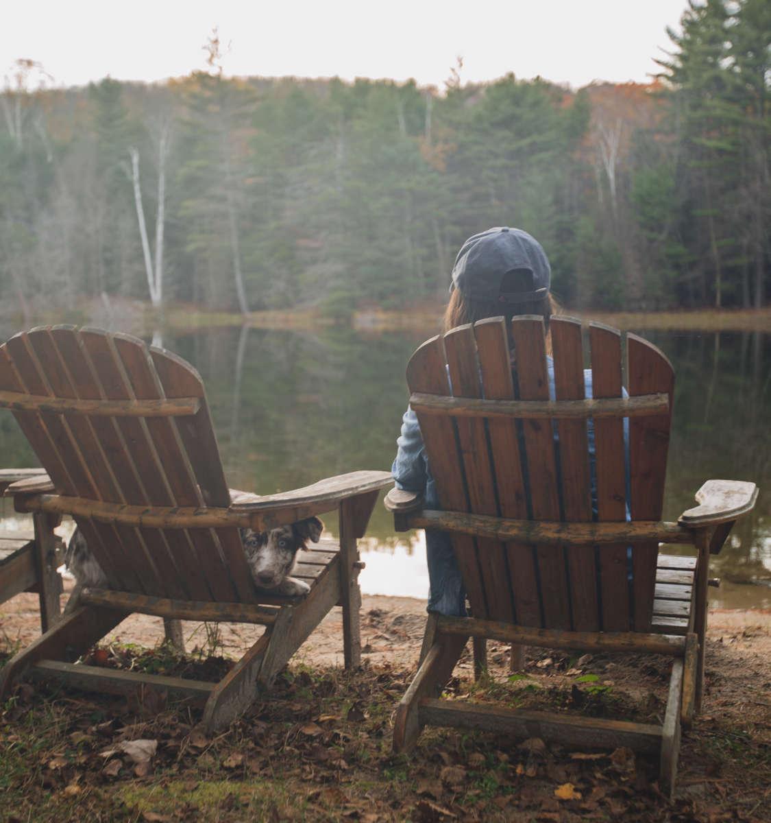 Adirondack rustic retreat camping for Rustic retreat