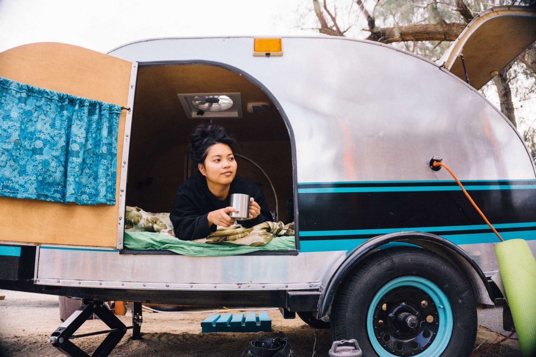 "TearDrop Trailer ""Glamping""  on Hipcamp"