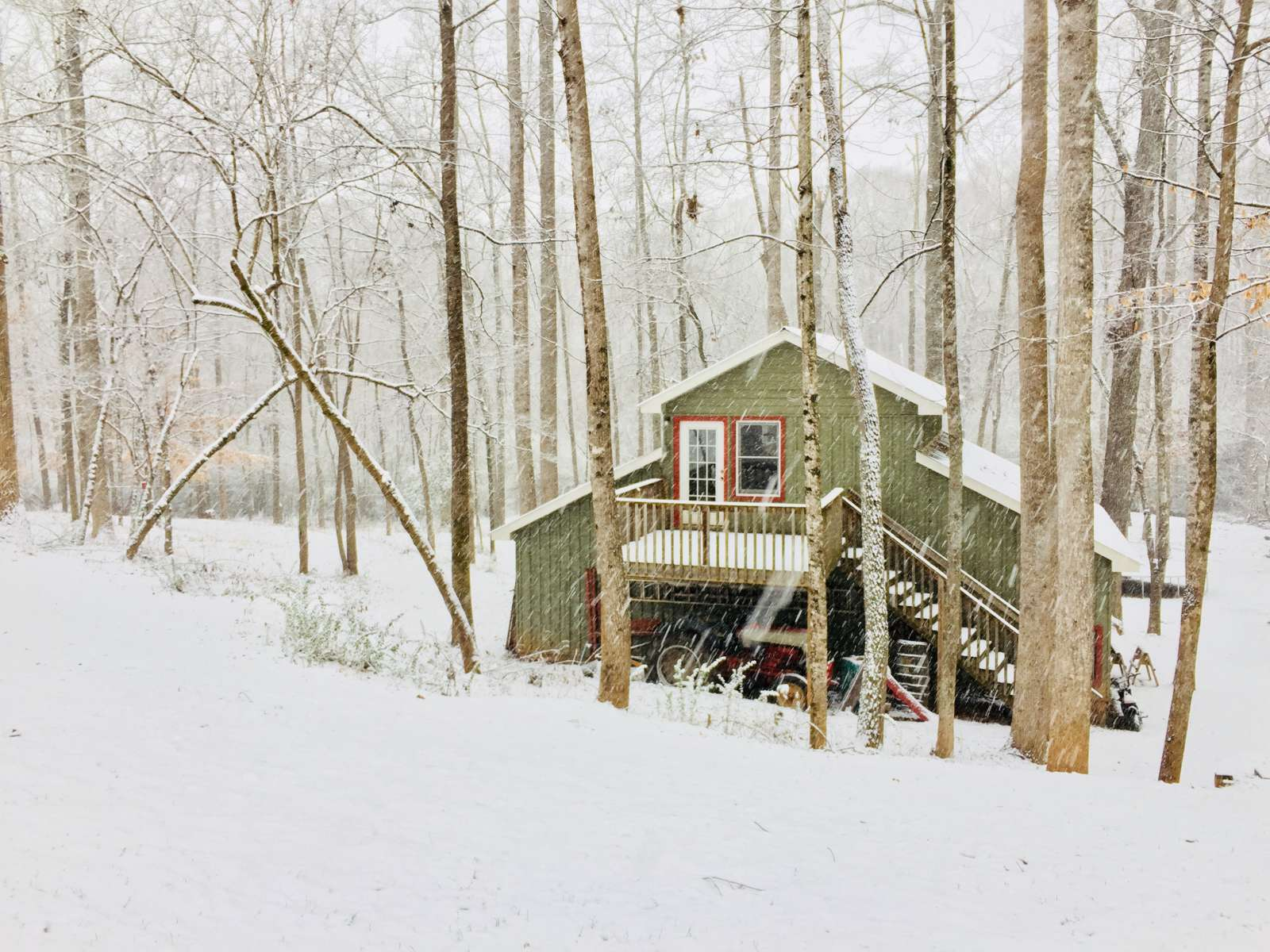 Cozy Tiny House in the Woods, Allen~Dally, SC: 1 Hipcamper review ...