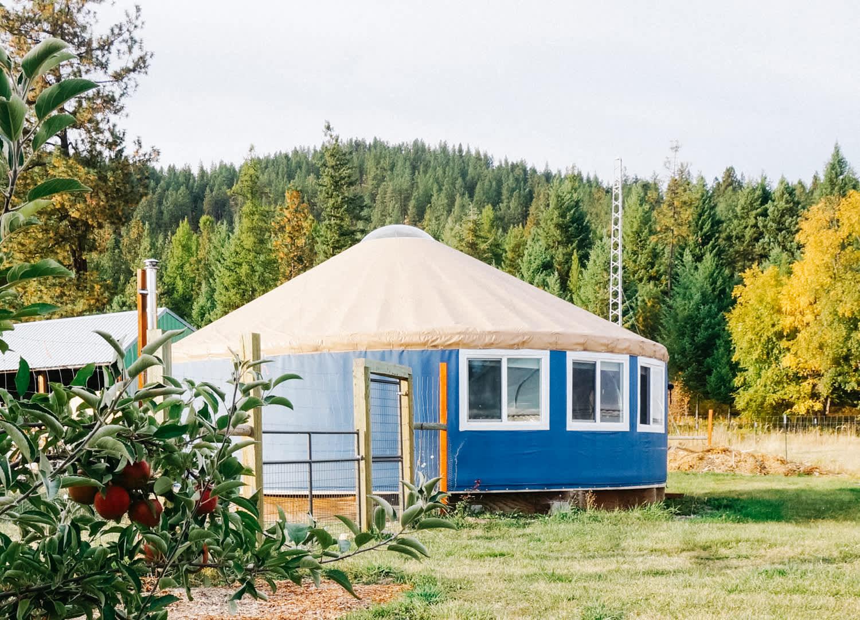 Saudi Yurt on