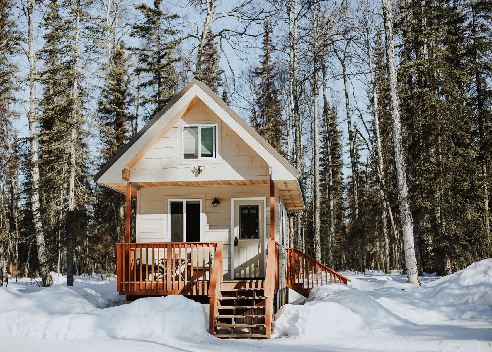 Talkeetna Tiny House CabinRV Talkeetna Tiny House Cabin RV AK 1
