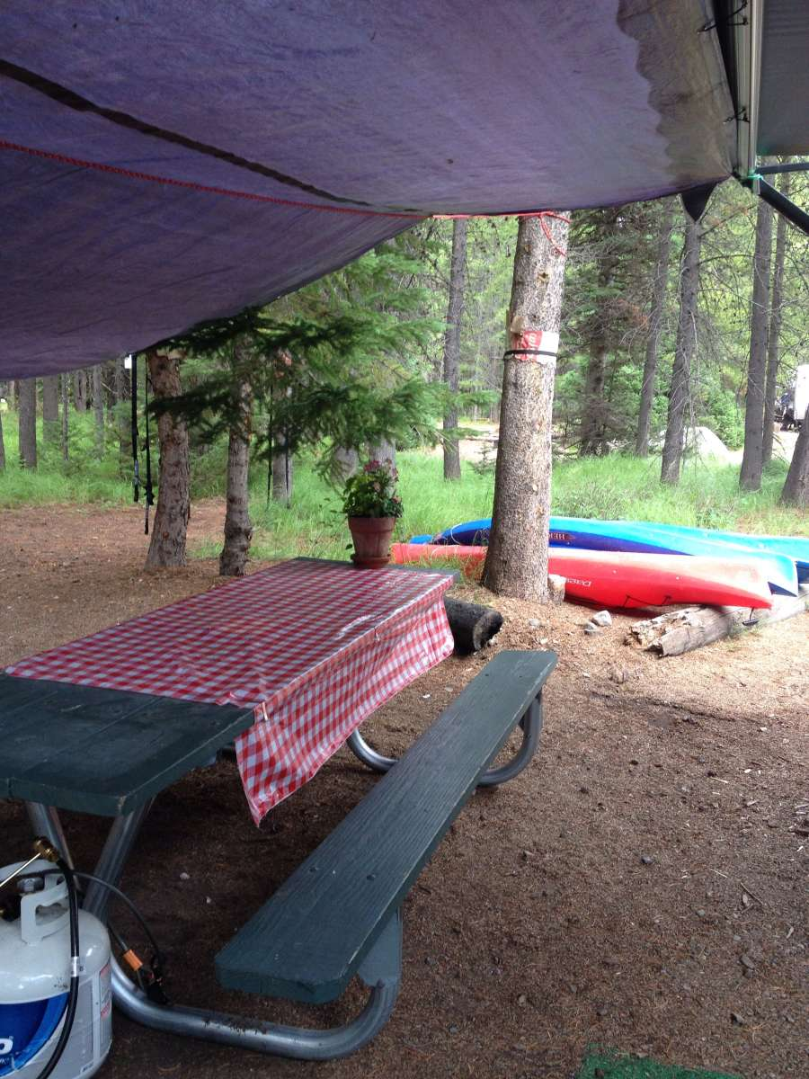 We Arrived Mid Afternoon And Checked In At The Colter Bay Tent Cabins Are A Great Way To Go When You