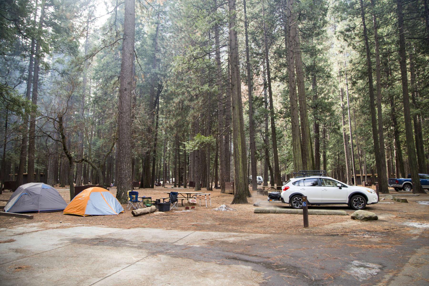 Upper Pines Campground, Yosemite, CA: 54 Hipcamper Reviews