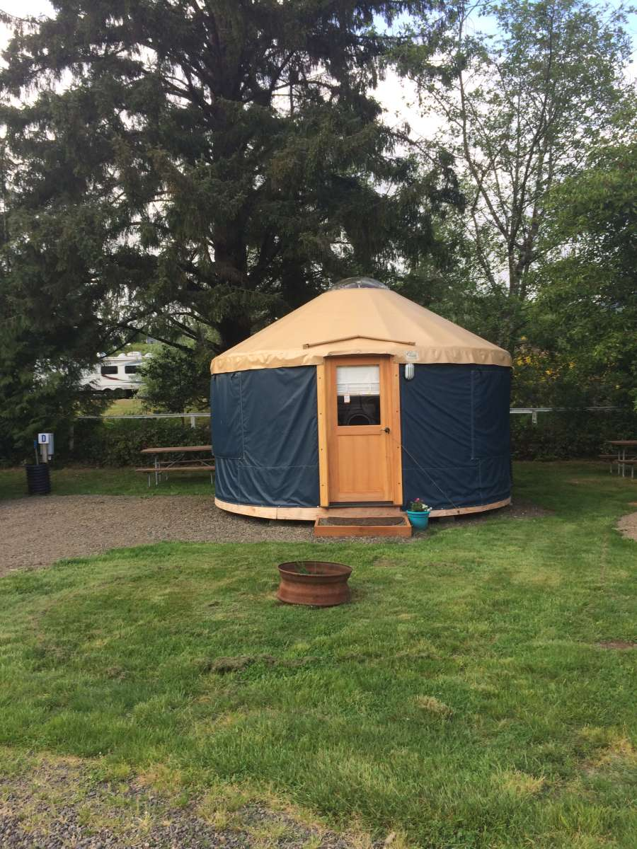 Yurts Near The Oregon Coast 16 Tillamook Bay City Rv