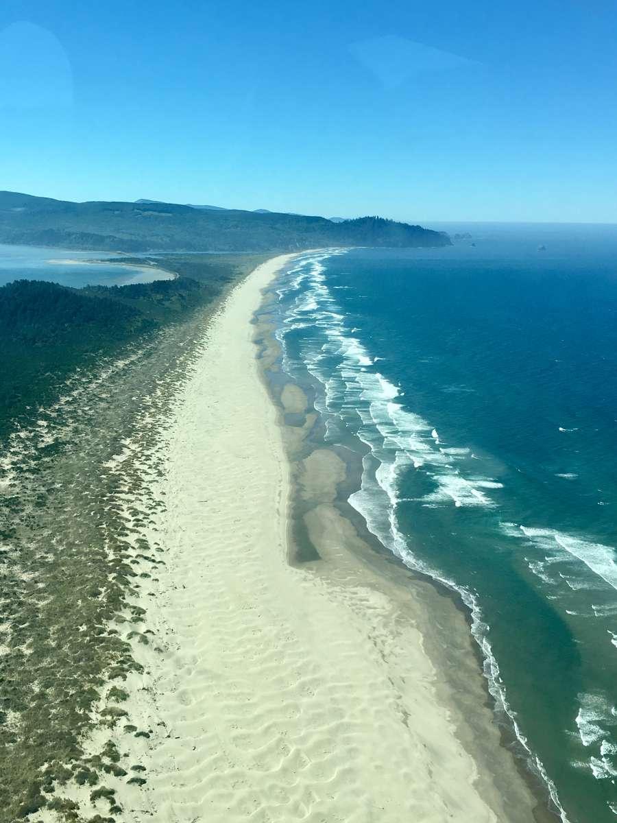 Rv Trailer Near The Oregon Coast Tillamook Bay City Rv