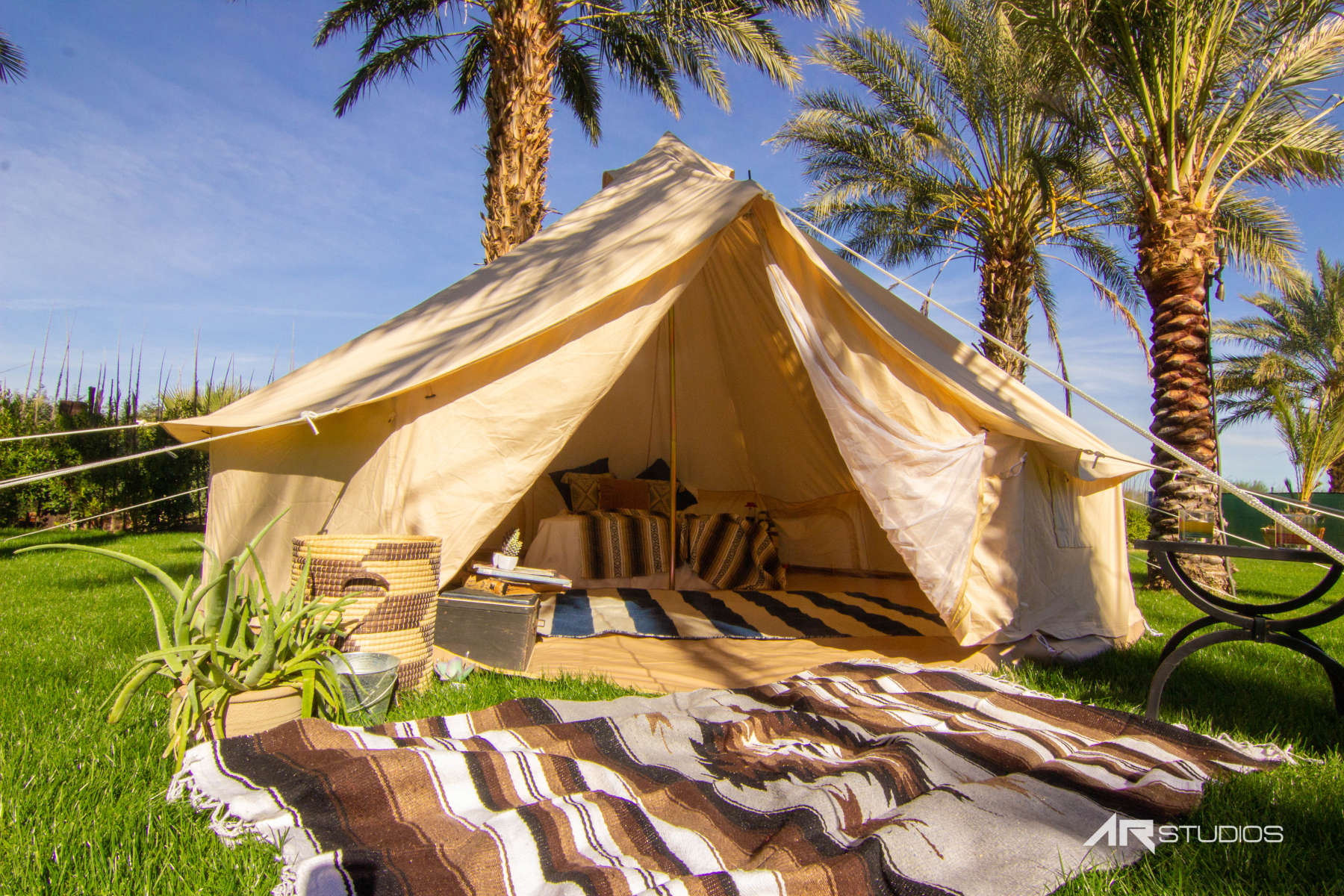 Superior Bell Tent Coachella Camp!