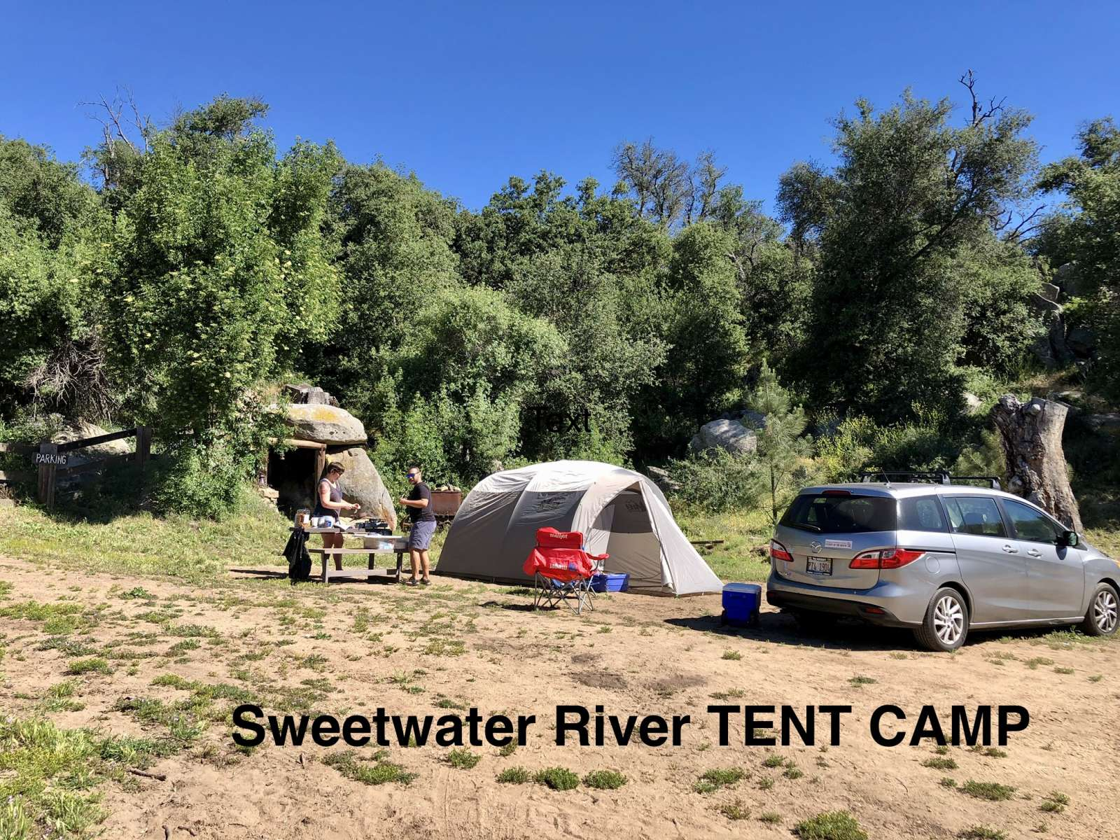 Sweetwater River Tent Camp