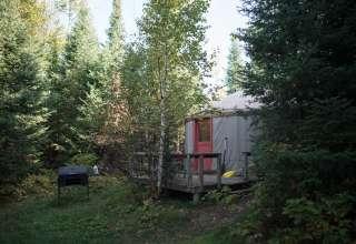 The yurt life.