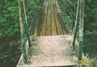 Suspension Bridge at Fall Creek Falls
