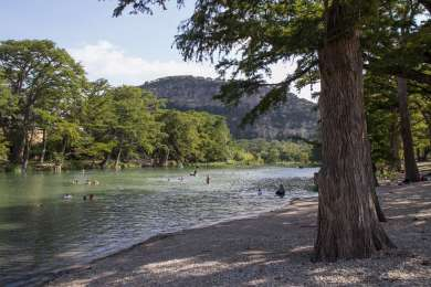 Frio River at Garner State Park