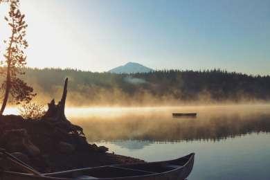 5am on Elk Lake