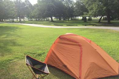 Buck Hall Recreation Area Campsite
