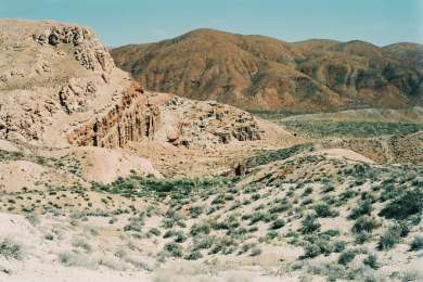 The trails of Red Rock Canyon State Park.
