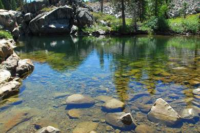 Such amazing water. Hikes around here are killer. Camped here with the family and had a memorable time:)