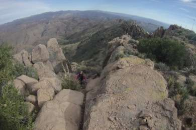 Superstition Ridgeline Trail. Accessible from campground.