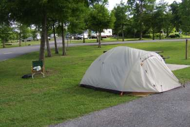 Bayou Segnette Campground