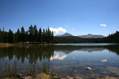 Dog Lake - nice hike near Porcupine Flat