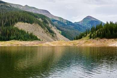 Great fishing can be had at Platoro Reservoir.