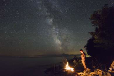 This past summer my college roommate and I spent a few days hammock camping on Rock Island. We backpacked to the far side of the island and enjoyed viewing the Perseid meteor shower along with the bright and beautiful Milky Way. I highly recommend this Park!