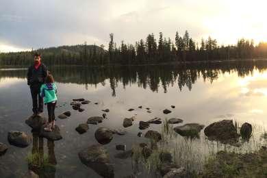 Enjoying a little sunset solitude