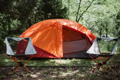 Trees are aplenty so you're guaranteed a secluded night's sleep at your campsite.