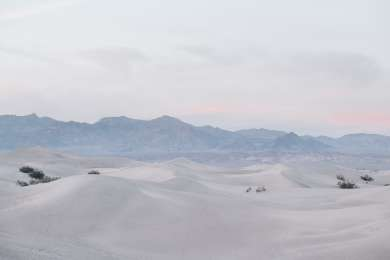 The Mesquite Sand Dunes are only 5 minutes from the campground.