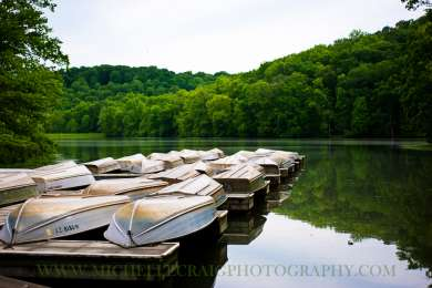 There are pedal boat rentals on the lake, a favorite activity of many kids!