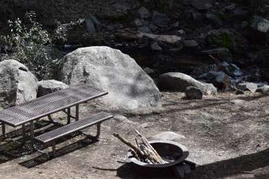 Bench in the North Campground