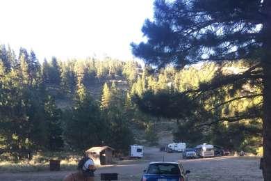 Pardon the mess. Site 9 had a decent tent site.