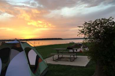 Waterfront camping ftw!