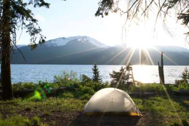 little tent, big views.
