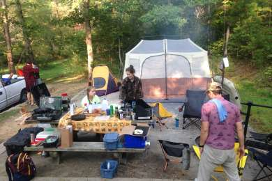 New friends, great food, good times. An iconic spot to camp only minutes away the Ocoee River: 230,000 adventures flock to every year, home of the '96 Olympics in whitewater, and some of the best rapids in the South East US.