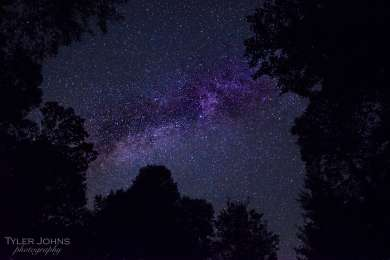 The Milky Way from Rocky Knob Campground