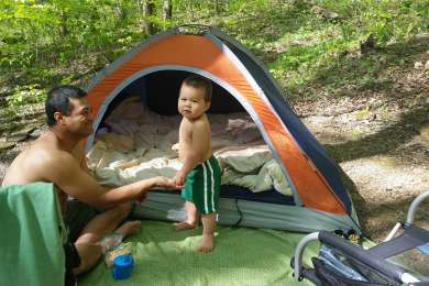Very small family campground
